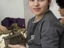 Grup 8 10 ani Modelaj Lut Cutie cu bijuterii Ana 130x98 Atelier modelaj