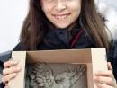 Grup 8 10 ani Modelaj Lut Grifon Ema. 130x98 Atelier modelaj
