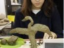 Grup 8 10 ani Modelaj Lut Pelican Fidan 130x98 Atelier modelaj