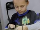 Grup 8 10 ani Modelaj Lut Ulcior Razvan. 130x98 Atelier modelaj