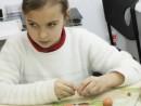 Grup 8 10 ani Modelaj Pasta ceramica Coroana cu frunze Kira 130x98 Atelier modelaj
