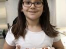 Grup 8 10 ani Modelaj Pasta ceramica Crenguta inflorita Andreea 130x98 Atelier modelaj