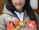 Grup 8 10 ani Modelaj Plastilina Animale din Jungla Chloe. 130x98 Atelier modelaj
