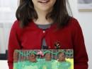 Grup 8 10 ani Modelaj Plastilina Animale din Jungla Ema. 130x98 Atelier modelaj