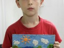 Grup 8 10 ani Modelaj Plastilina Anotimp Henri 130x98 Atelier modelaj