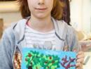 Grup 8 10 ani Modelaj in plastilina Livada cu fructe Anastasia 130x98 Atelier modelaj