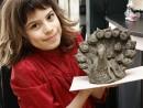 Grup 8 10 ani Modelaj lut Paun Sara 130x98 Atelier modelaj