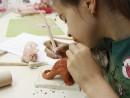 Grup 8 10 ani modelaj ceramica Dinozaur Ema 2 130x98 Atelier modelaj