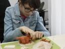 Grup 8 10 ani modelaj ceramica Dinozaur Fidan 130x98 Atelier modelaj