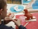 Grup 8 10 ani modelaj ceramica Dinozaur Razvan 130x98 Atelier modelaj