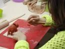 Grup 8 10 ani modelaj ceramica Dinozaur Sara 2 130x98 Atelier modelaj