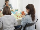 Grup 8 10 ani modelaj ceramica Dinozaur Valeria Diana 130x98 Atelier modelaj