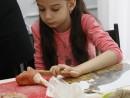 Grup 8 10 ani modelaj ceramica Dinozaur Viviana 130x98 Atelier modelaj