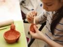 Grup 8 10 ani modelaj ceramica Suport oua Viviana 130x98 Atelier modelaj