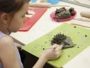 Grup 8 10 ani modelaj lut Arici Alexia 130x98 Atelier modelaj