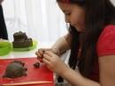 Grup 8 10 ani modelaj lut Arici Diana 130x98 Atelier modelaj