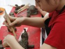 Grup 8 10 ani modelaj lut Arici Sara 130x98 Atelier modelaj