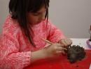 Grup 8 10 ani modelaj lut Arici Valeria 130x98 Atelier modelaj