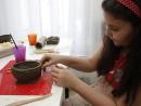 Grup 8 10 ani modelaj lut Bomboniera Diana 130x98 Atelier modelaj