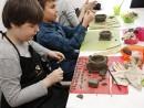 Grup 8 10 ani modelaj lut Bomboniera Vlad si Victor 130x98 Atelier modelaj