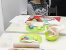 Grup 8 10 ani modelaj plastilina Livada Valeria 130x98 Atelier modelaj