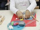 Grup 8 10 ani modelaj plastilina Vaza cu Flori Chloe 130x98 Atelier modelaj