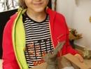 Grup Animale Modelaj Lut Iepure Chloe 130x98 Atelier modelaj