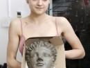 Grup Figura umana Modelaj lut Hermes Ada 130x98 Atelier modelaj