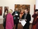 Acordarea Diplomei 130x98 Premiul Pentru Tineret la Salonul Anual de Pictura 2013