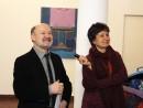 Petru Lucaci si Aurelia Mocanu 130x98 Premiul Pentru Tineret la Salonul Anual de Pictura 2013