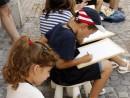 Scoala De Vara Desen Sepia Bucurestiul Vechi Teuta Luca Sara Alex Vlad Sergiu 130x98 Scoala de Vara, 2014