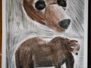 Scoala De Vara Desen Sepia Carbune Gradina Zoologica Studiu Animale Urs Alexandra 130x98 Scoala de Vara, 2015