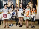 Scoala De Vara Pictura Material Textil Sacosa Alexandra Ana Dalia Melania Razvanp2 130x98 Scoala de Vara, 2015
