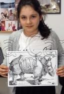 Clasa 10 14 ani Desen Penita Reproducere Durer Briana. 128x187 Rezultate de exceptie la cursurile de pictura si desen
