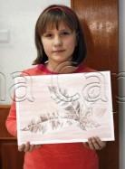 Clasa 10 14 ani Desen Sepia Studiu Frunze Maria. 138x187 Rezultate de exceptie la cursurile de pictura si desen