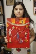 Clasa 10 14 ani Pictura Acrilic Circ Andrada. 125x187 Rezultate de exceptie la cursurile de pictura si desen