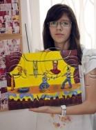 Clasa 10 14 ani Pictura Acrilic Circ Fidan. 139x187 Rezultate de exceptie la cursurile de pictura si desen