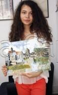Clasa 10 14 ani Pictura Acrilic Reproducere Sisley Maria 115x187 Rezultate de exceptie la cursurile de pictura si desen