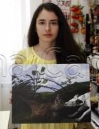 Clasa 10 14 ani Pictura Acrilic Vanatoare Elena. 144x187 Rezultate de exceptie la cursurile de pictura si desen