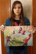 Clasa 10 14 ani Pictura Tempera Circ Ada. 126x187 Rezultate de exceptie la cursurile de pictura si desen