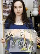Clasa 10 14 ani Pictura Tempera Circ Maria. 138x187 Rezultate de exceptie la cursurile de pictura si desen