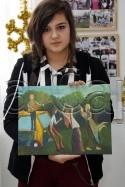 Clasa 14 18 ani Pictura Acrilic Timp Liber Ada. 125x187 Rezultate de exceptie la cursurile de pictura si desen