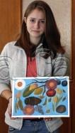 Clasa 14 18 ani Pictura Tempera Covor de Toamna Delia. 106x187 Rezultate de exceptie la cursurile de pictura si desen