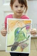 Clasa 4 6 ani Desen Creioane Colorate Colibri Ema. 125x187 Rezultate de exceptie la cursurile de pictura si desen