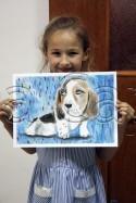 Clasa 4 6 ani Desen Pastel Cretat Caine Tatiana. 125x187 Rezultate de exceptie la cursurile de pictura si desen