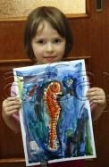 Clasa 4 6 ani Pictura Acuarela Calut de Mare Agnia. 122x187 Rezultate de exceptie la cursurile de pictura si desen