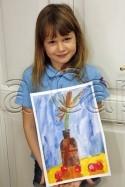 Clasa 6 8 ani Pictura Acuarela Natura Statica Victoria. 125x187 Rezultate de exceptie la cursurile de pictura si desen