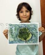 Clasa 6 8 ani Pictura Acuarela Studiu Frunza Ioachim. 151x187 Rezultate de exceptie la cursurile de pictura si desen