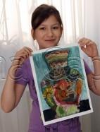 Clasa 6 8 ani Pictura Acuarela Ulcior Stefania. 142x187 Rezultate de exceptie la cursurile de pictura si desen
