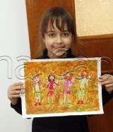 Clasa 6 8 ani Pictura Tempera Personaje Fantastice Ioana. 160x187 Rezultate de exceptie la cursurile de pictura si desen